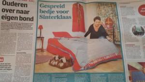 logeerhuis kranten knipsel sint 2015